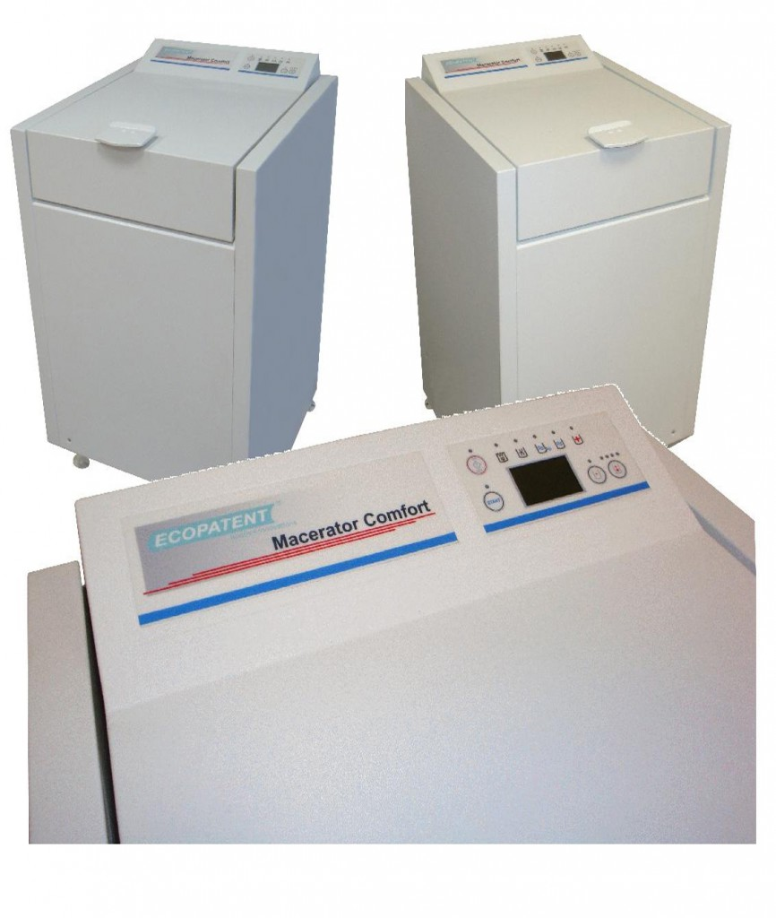 ECO-Finisher-Macerator 750-E Ecopatent